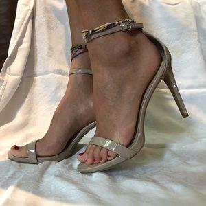 Beige heels size 10